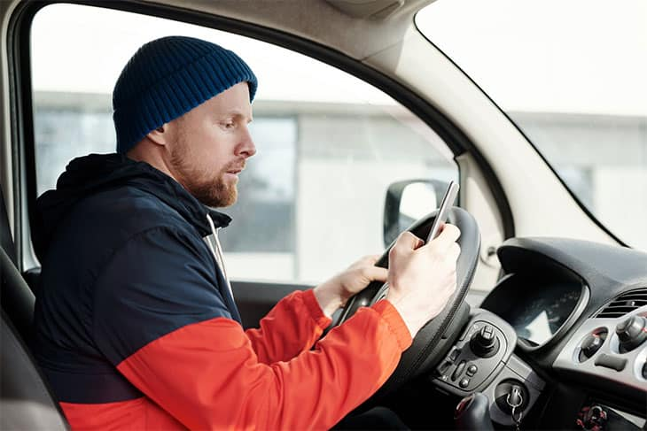 jobs that pay well delivery driver