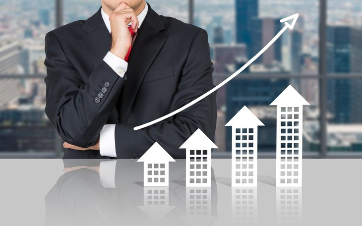 A businessman invests in commercial real estate