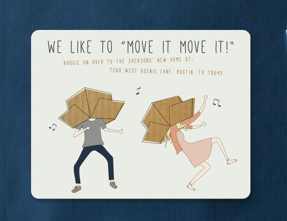 Dancing with boxes on your head is not recommended.
