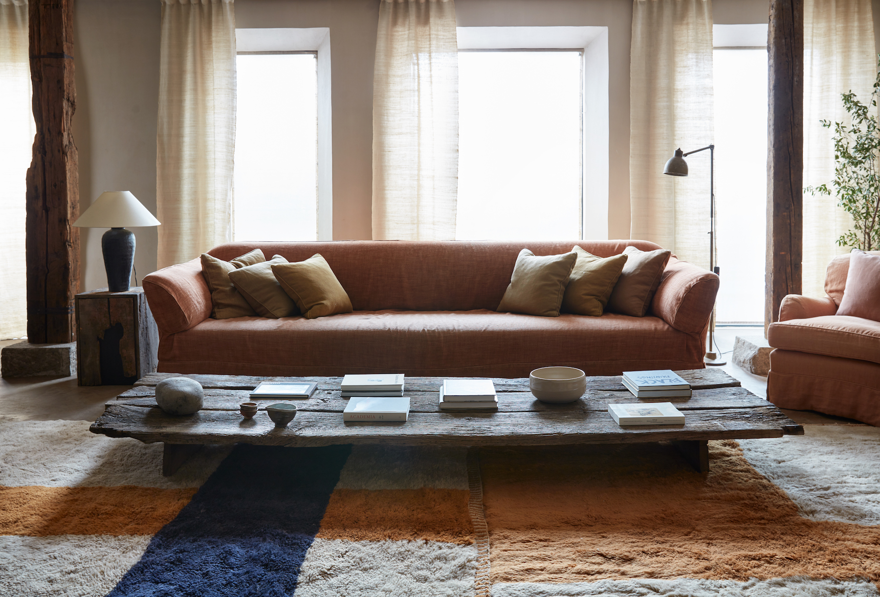 A Cozy New Rug Collection on Apartment 34