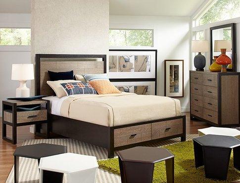 Helix California King bedroom set