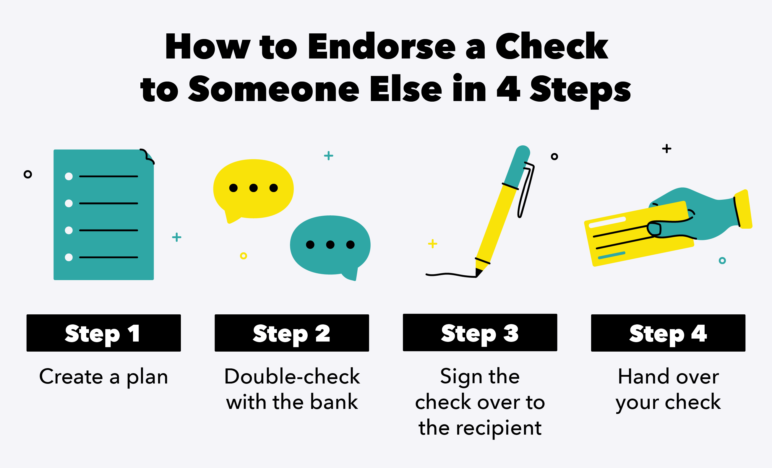 How to Endorse a Check to Someone Else in 4 Steps