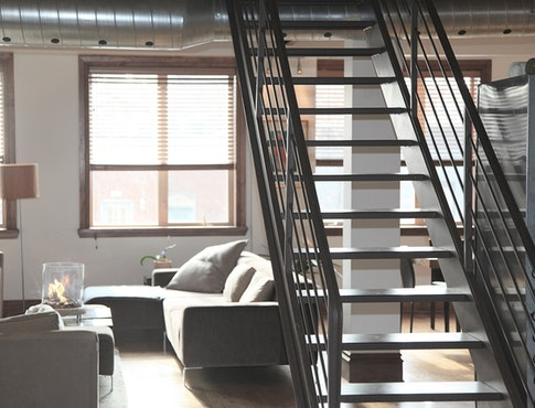 apartment with second story open concept
