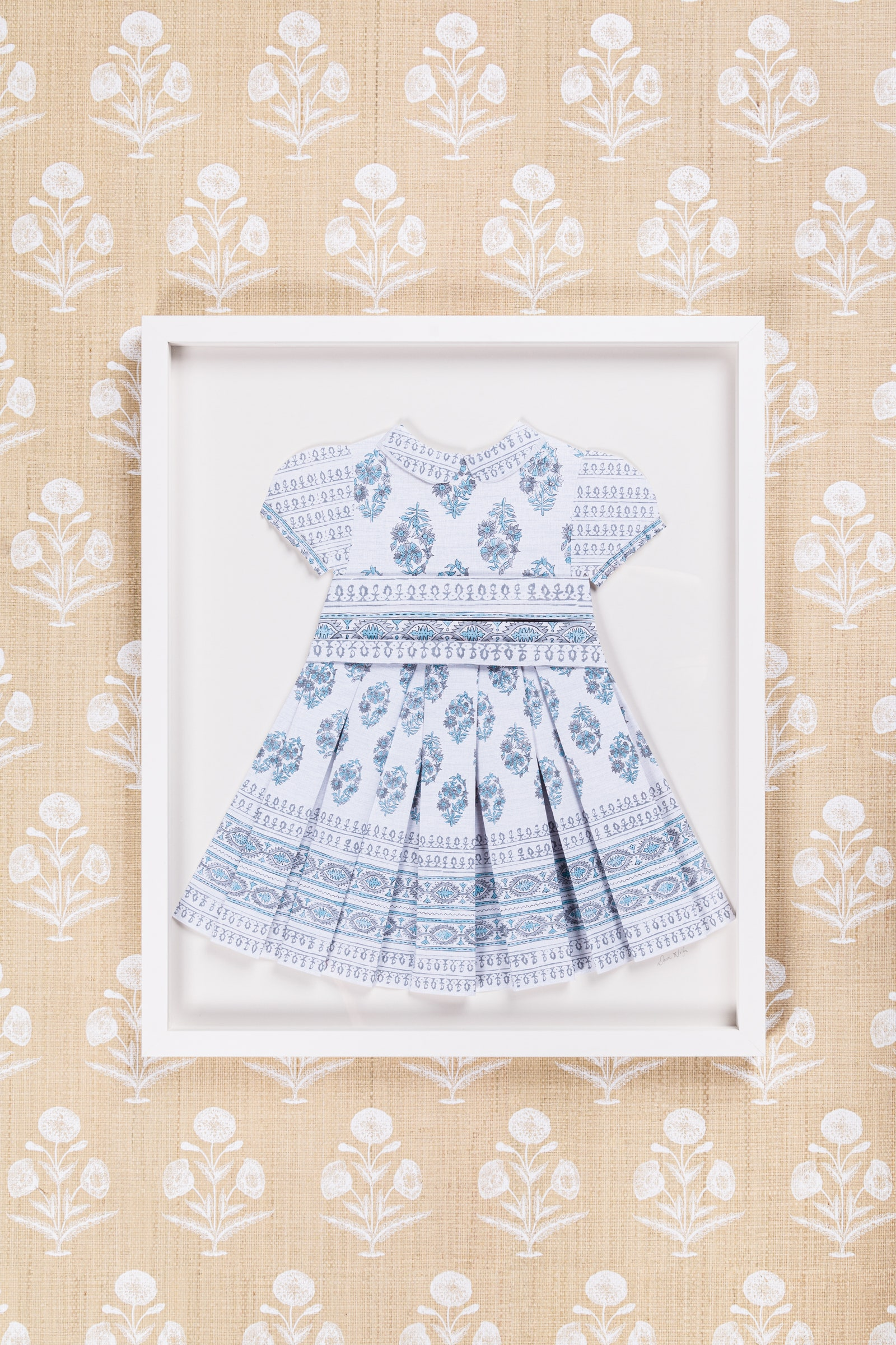 Image may contain Clothing Dress Apparel Rug Lace and Pattern